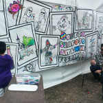 coloring wall w kids 2016