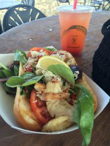 Crab Sandwich  photo by Julie Schloss