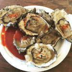 Oysters from Big Boys BBQ
