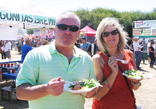 Eating at the Festival 2012
