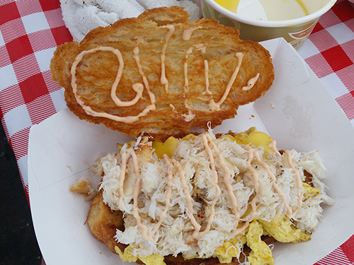 Anello's Crab Sandwich
