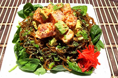 Yoshi Bodega Spicy Tuna Yakisoba